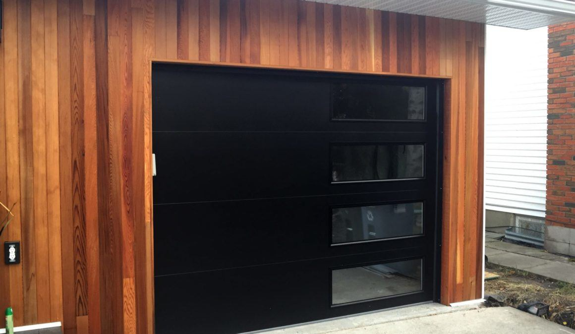 Modern Tech garage doors