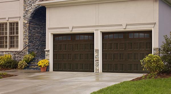 Amarr® Oak Summit® garage doors