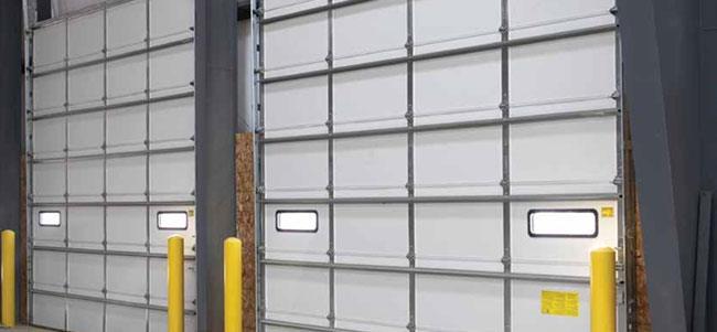 Model 2415 overhead doors