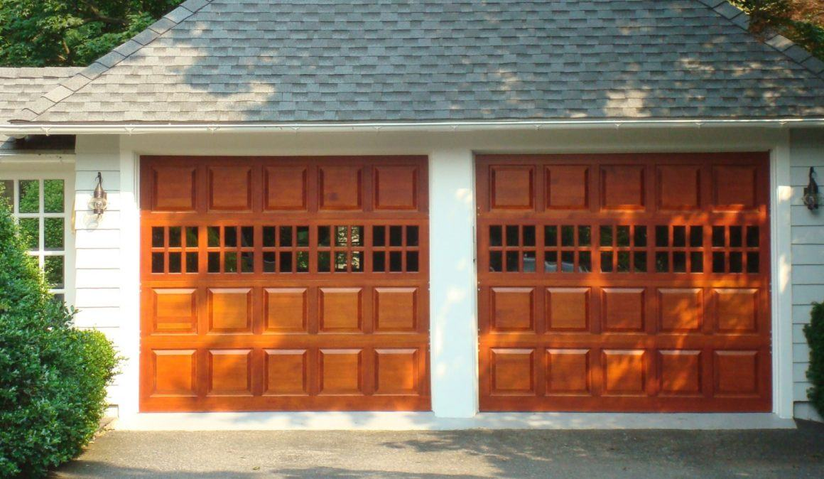 Wood Panel Doors garage doors