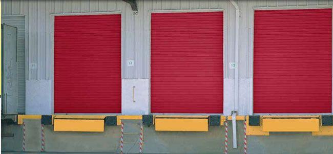Roll Up Sheet Door Model DS-350 overhead doors