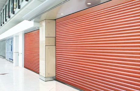 Security Shutter Model 523 overhead doors