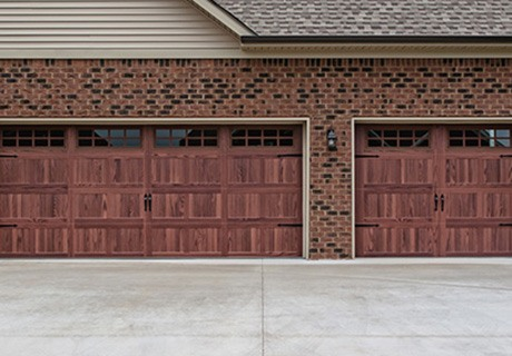 Accents garage doors