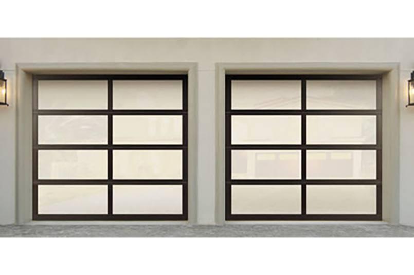 Model 8850 garage doors