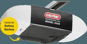 Model 3020 garage doors