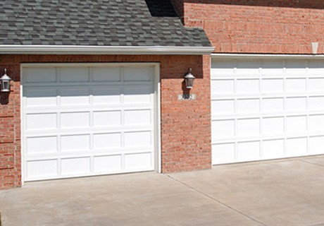 Recessed Panel garage doors