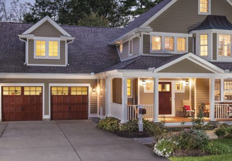 RESERVE® WOOD collection SEMI-CUSTOM series garage doors