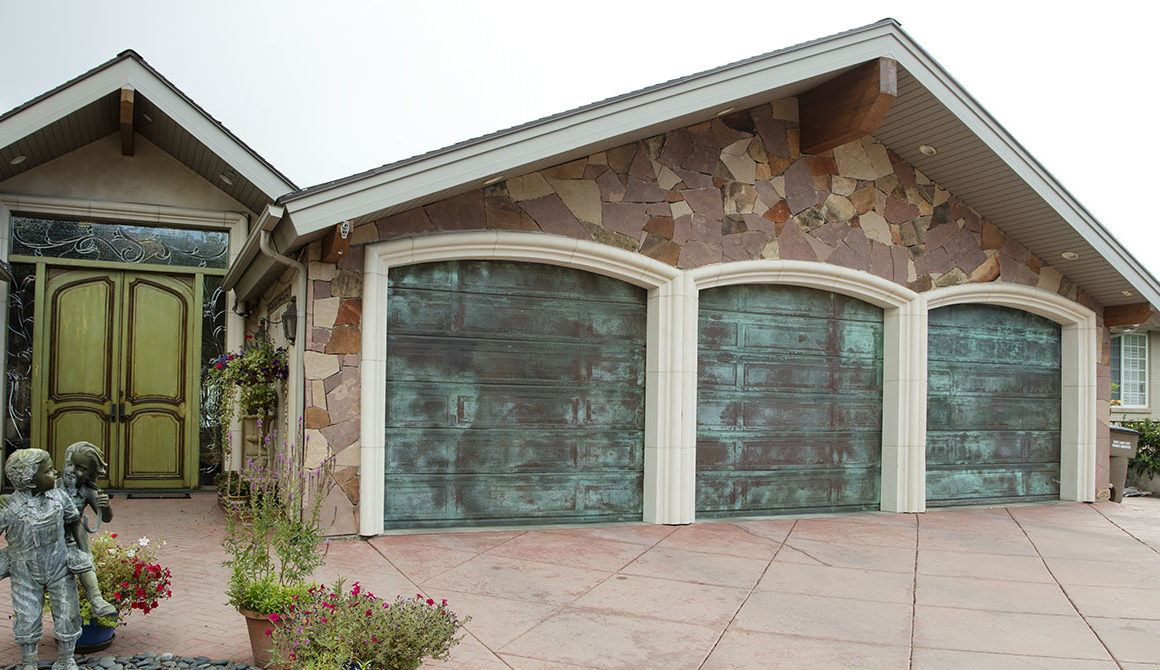 COPPER garage doors