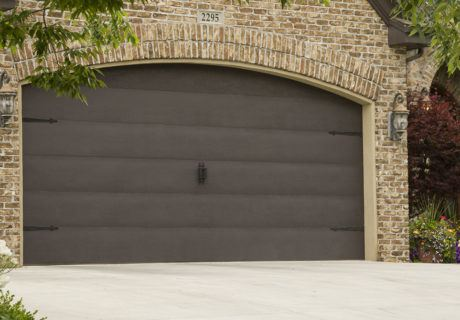 Flush garage doors