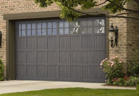Steel Pinnacle garage doors