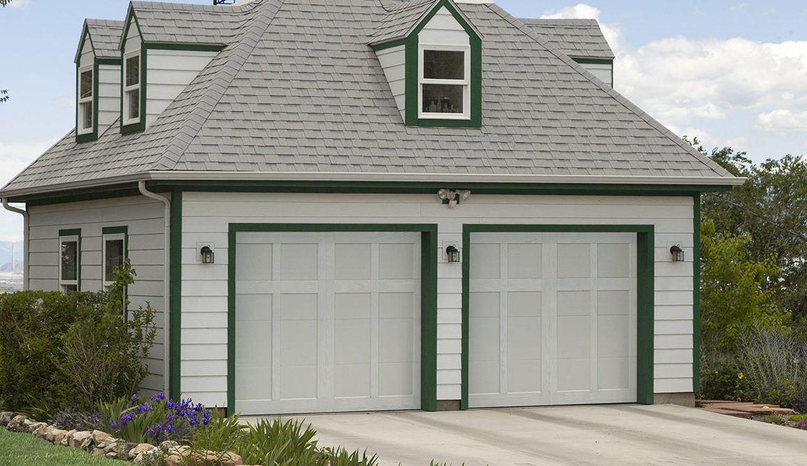 Chalet garage doors