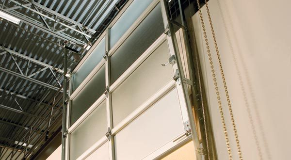 Sectional Aluminum overhead doors