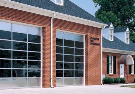Sectional Aluminum overhead doors