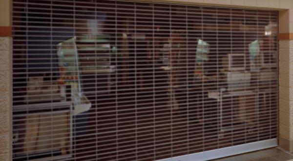 Grille overhead doors