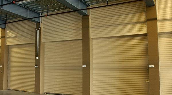 Self Storage overhead doors