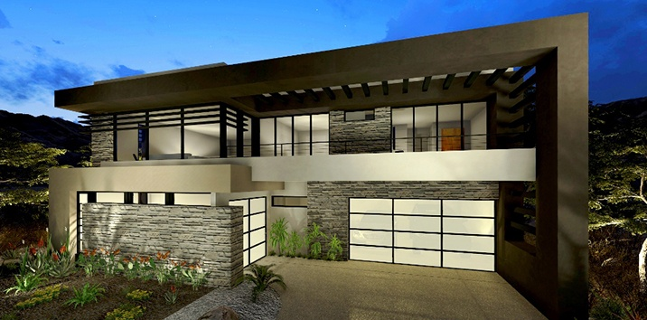 Modern Look Garage Doors For Homes Contemporary Style Garage Doors
